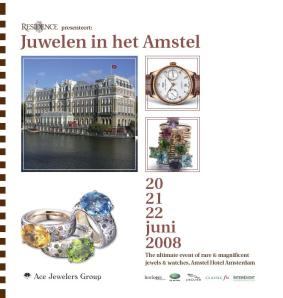 Invitation Juwelen in het Amstel by Ace Jewelers