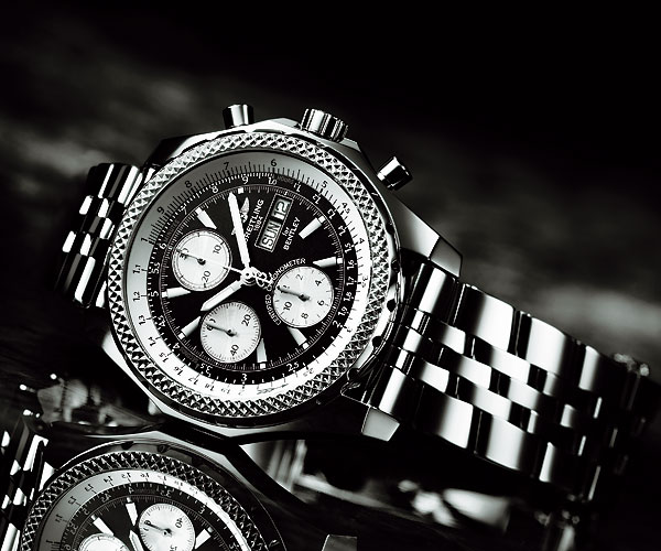 Breitling Bentley Gt Wristwatches: The Driver's Watch: Quick Overview Of Watch-Car