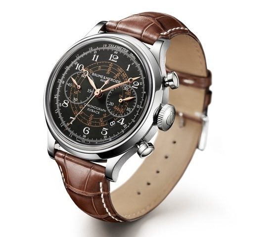 SIHH 2012 Preview: Baume & Mercier Capeland Flyback Chronograph (3/3)