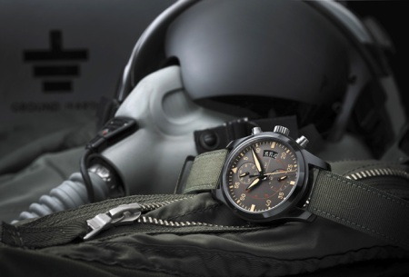 The IWC Pilot 2012 TOPGUN Ceramic Fighters Watch